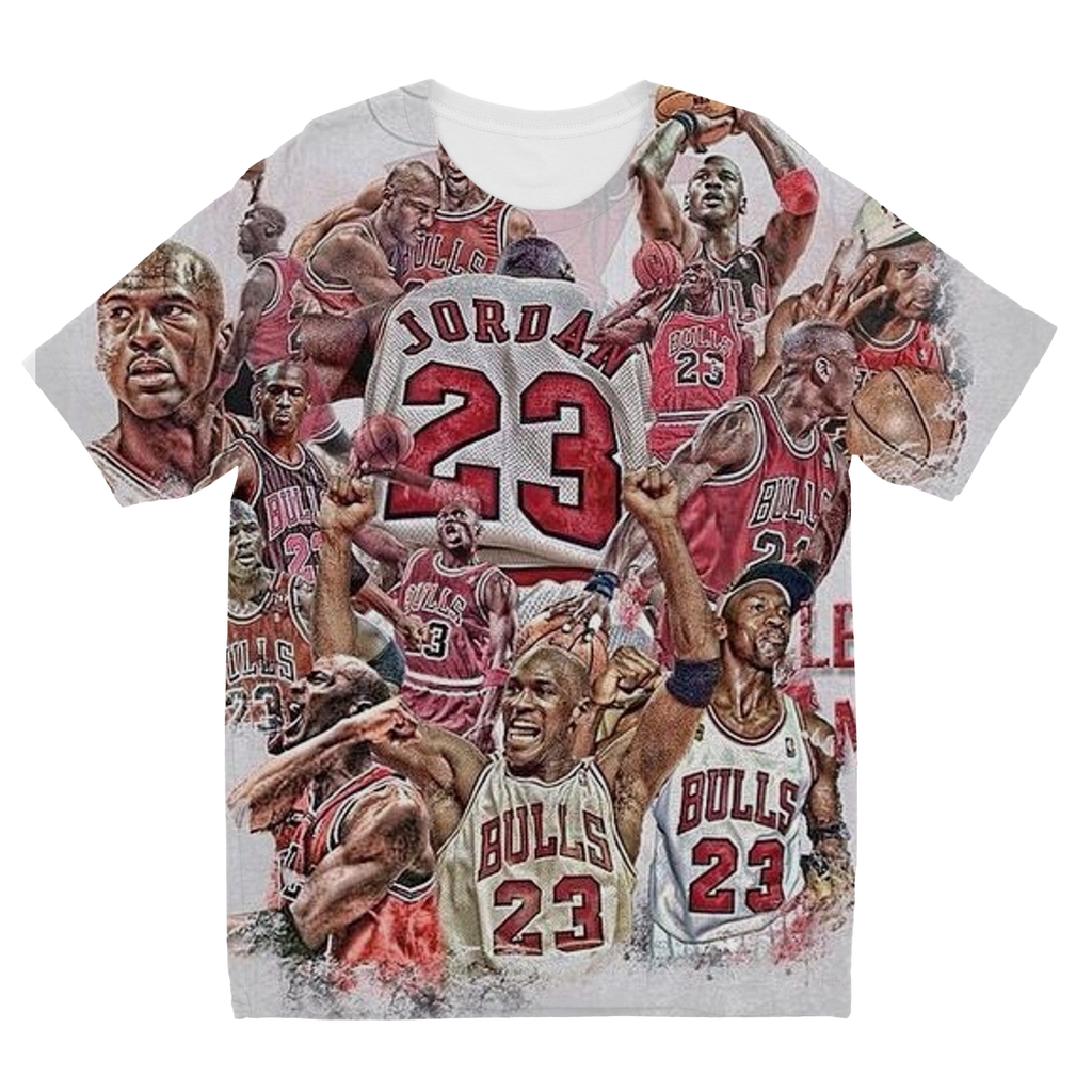 Bull - Jordan Kids Sublimation TShirt