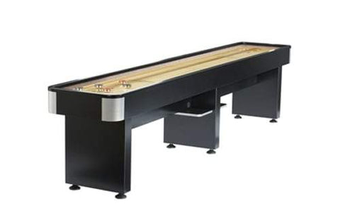 Modern Brunswick Billiards DELRAY II 12' Shuffleboard Table in Black