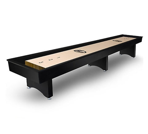 "Hudson ""The Commercial"" Shuffleboard Table 9'-22' with Custom Stain Options"