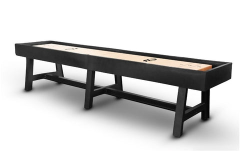 Retro Hudson Pasadena Shuffleboard Table 9'-22 with Custom Finish Options