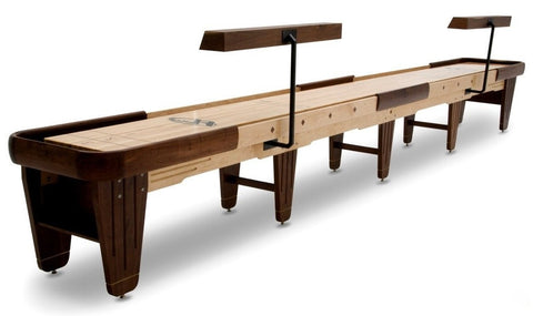 Hudson Dominator Shuffleboard 9'-22' Custom Wood and Stain Options