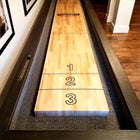 "Rustic Retro Berner ""The Urban"" 14' Shuffleboard Table"