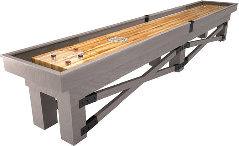 Custom Retro Champion Rustic 18' Shuffleboard Table