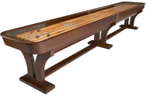 Custom Champion Venetian 18' Shuffleboard Table