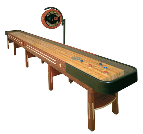 Custom Vintage Champion 14' The Grand Champion Shuffleboard Table