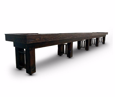 Furniture Style Hudson Fallbrook Limited Shuffleboard Table 9'-22' with Custom Stain Options