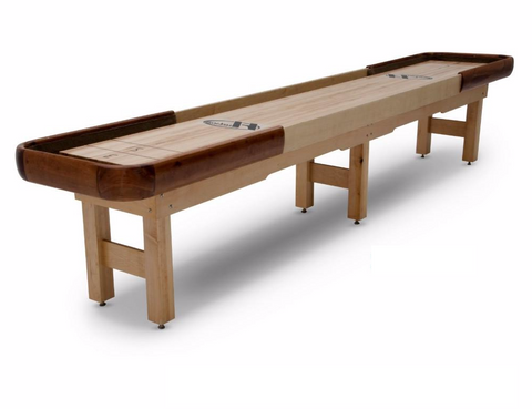 Hudson Cirrus Shuffleboard Table 9'-22 Indoor/Outdoor w/Custom Wood Options