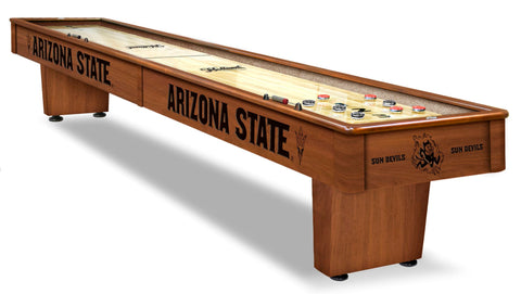College Holland Bar Stool Arizona State 12' Shuffleboard Table