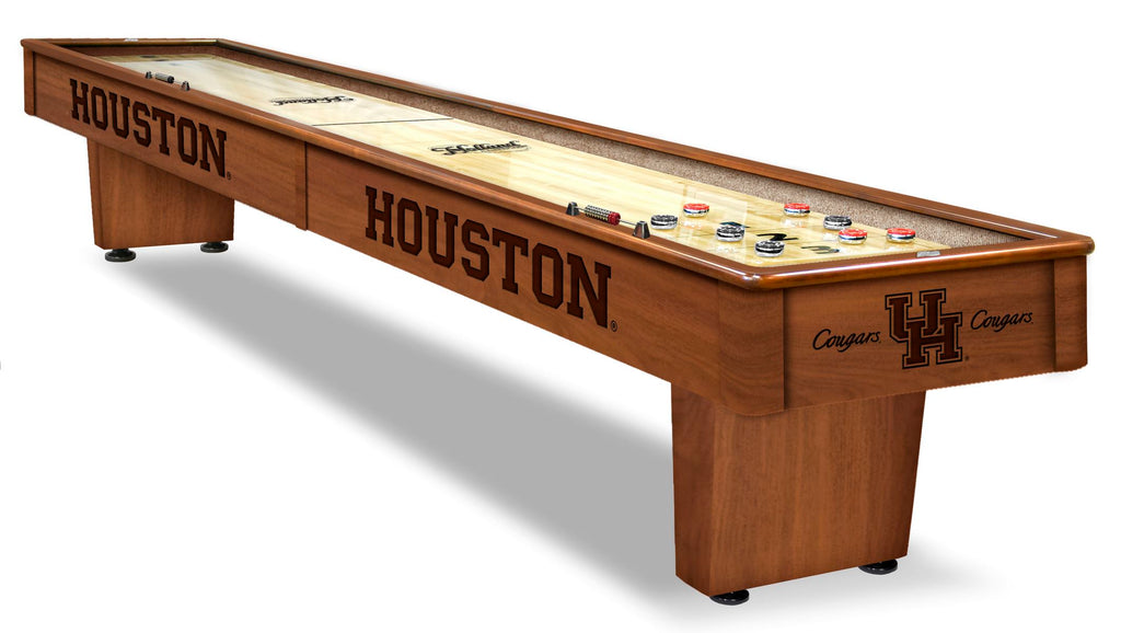 College Holland Bar Stool University of Houston 12' Shuffleboard Table