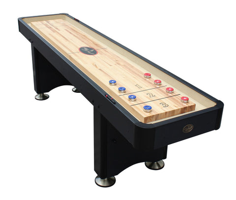 Standard Playcraft Woodbridge 12' Shuffleboard Table in Black
