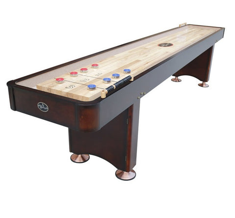 Standard Playcraft Georgetown 12' Shuffleboard Table in Espresso