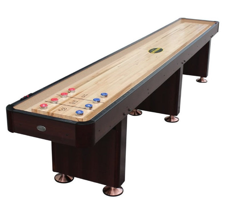 "Berner ""The Standard"" 14' Shuffleboard Table In Espresso"