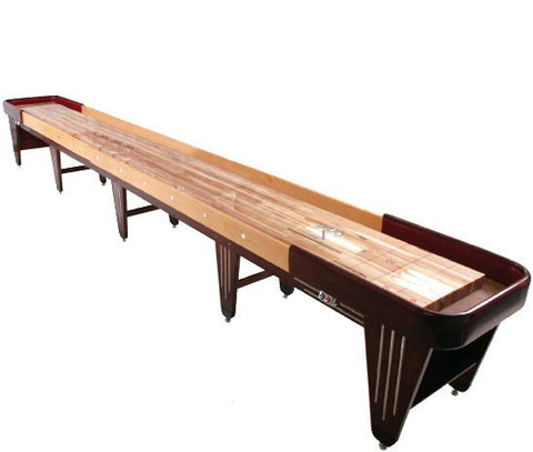 Custom Champion 14' Charleston Vintage Shuffleboard Table
