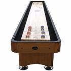 Standard Playcraft Woodbridge 12' Shuffleboard Table in Honey Oak