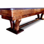 Rustic Furniture Style Hudson Torino Limited Shuffleboard Table 9'-22' with Custom Stain Options