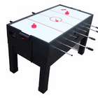 Berner 13-in-1 Combination Game Table in Black (hockey table top)