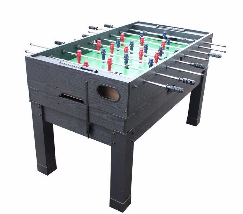 Berner 13-in-1 Combination Game Table in Black (Foosball table top)