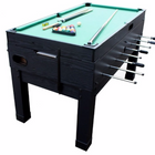Berner 13-in-1 Combination Game Table in Black (Pool Table Top)