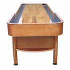 Vintage Playcraft Telluride 22' Pro Style Shuffleboard Table in Honey