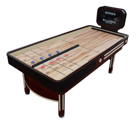 "Berner ""The Rebound"" 7' Limited Edition Shuffleboard with Electronic Scoreboard"