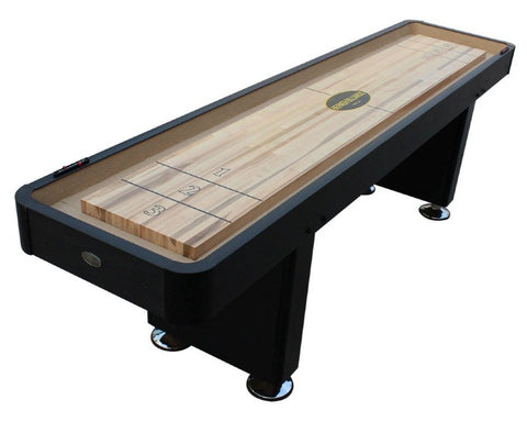 "Berner ""The Standard"" 16' Shuffleboard Table In Black"