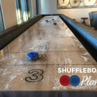 Shuffleboard Playfield Installation