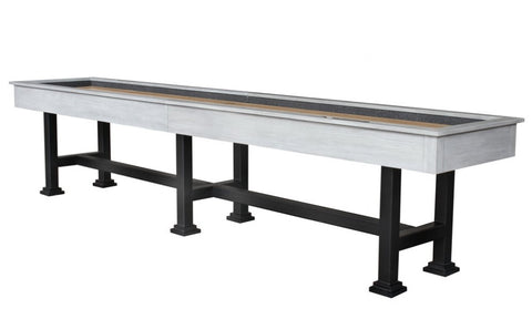 "Berner ""The Urban"" 14' Shuffleboard Table in White"