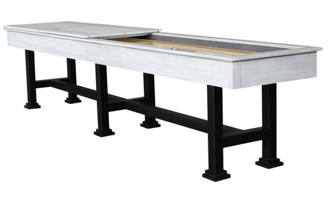 "Berner ""The Urban"" 16' Shuffleboard Table in White"
