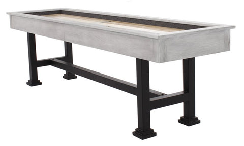 "Berner ""The Urban"" 9' Shuffleboard Table in White"