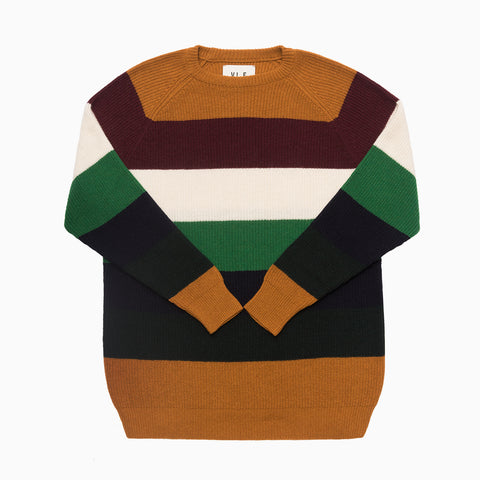 Cashfive Striped Sweater