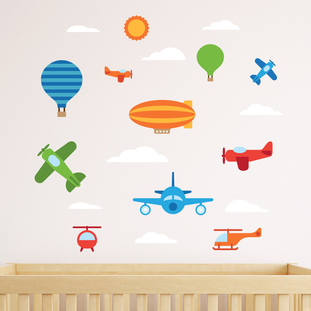 Air Vehicle Wall Decals