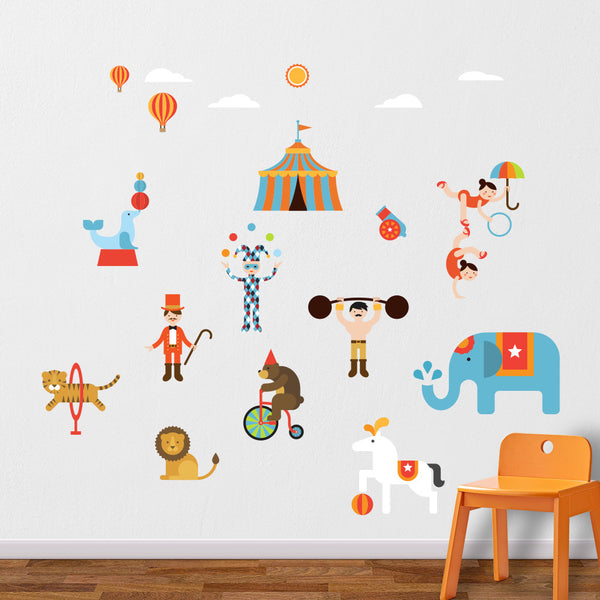 Circus Wall Decals