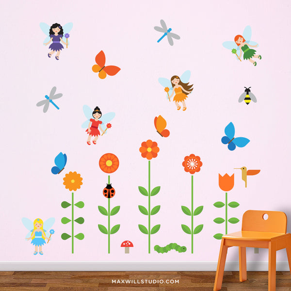 Fairy Garden Wall Decals