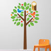 Owl Tree Wall Decal