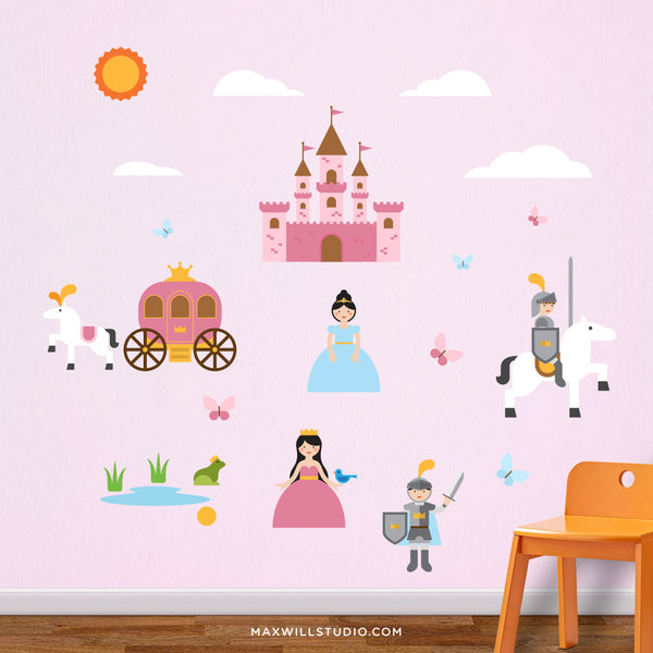 Princess & Castle Wall Decals