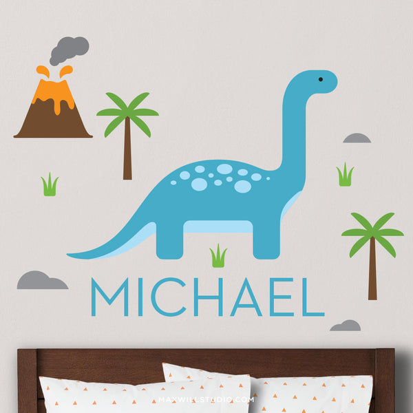 Apatosaurus Wall Decal (Personalized)