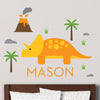 Triceratops Wall Decal (Personalized)
