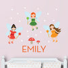 Fairies Wall Decal (Personalized)