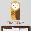 Owl Wall Decal (Personalized)