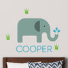 Elephant Wall Decal (Personalized)