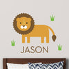 Lion Wall Decal (Personalized)