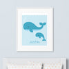 Whales Wall Art (Personalized)