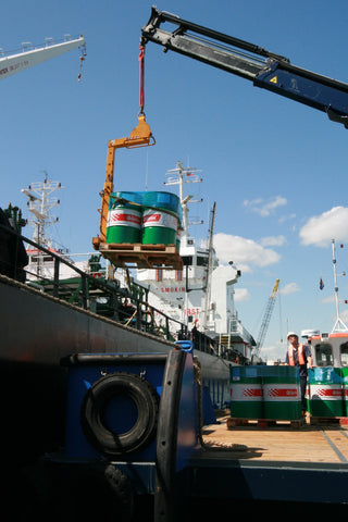 Marine lubricants delivery