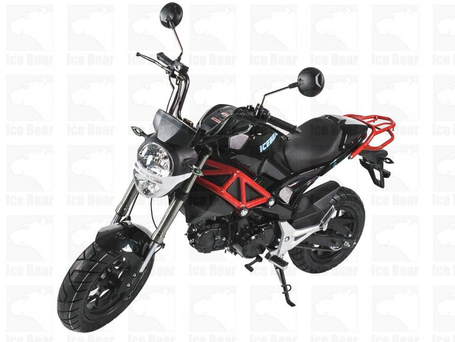 little motorcycle pictures  ICE BEAR MOTORCYCLE LITTLE MONSTER PMZ125-2 | Power Toy Planet