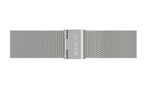 Silver Stainless Steel Mesh Band