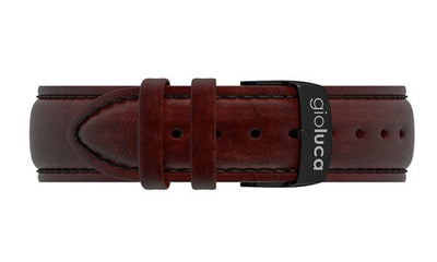 Leather Band with Black Buckle