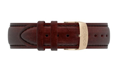 Leather Band with Gold Buckle