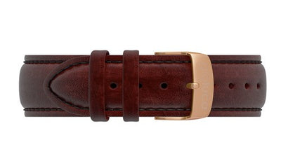 Leather Band with Rose Gold Buckle