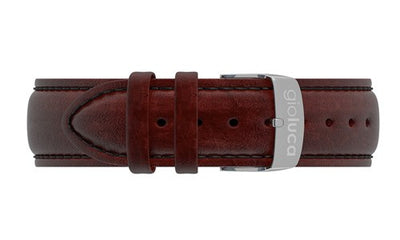 Leather Band with Silver Buckle