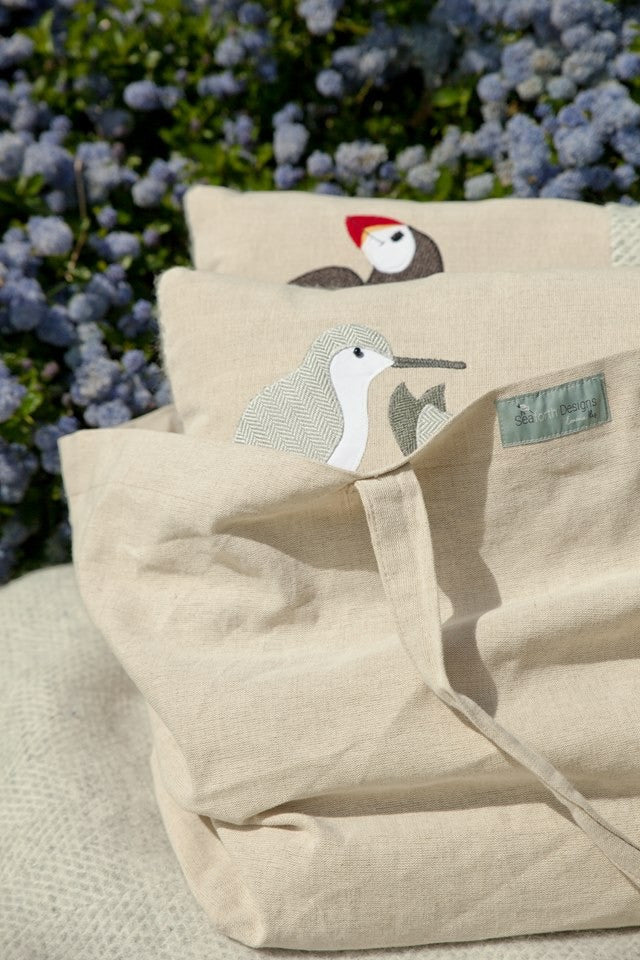 Natural Cotton Beach Bag / Holdall